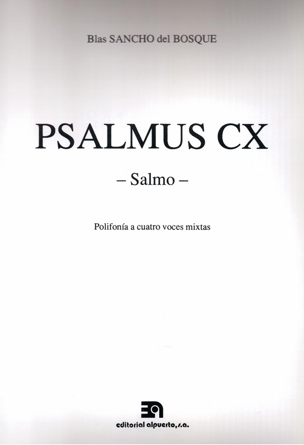 Psalmus CX -Salmo-